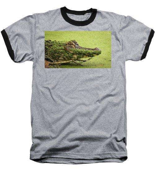 Gator Camo Baseball T-Shirt