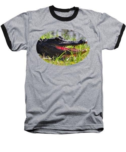 Gator Grin .png Baseball T-Shirt