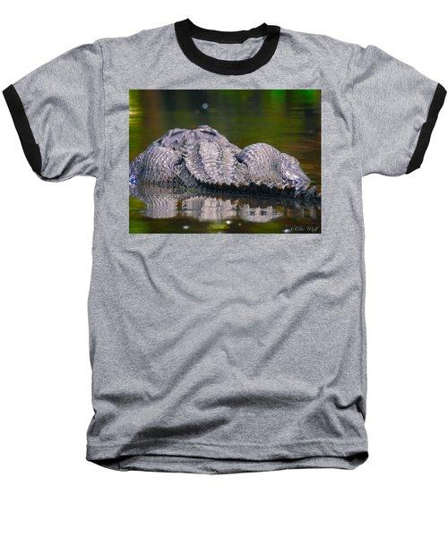 Gator On Ninja Cam Baseball T-Shirt