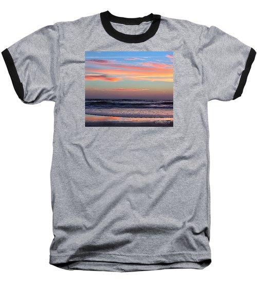 Gator Sunrise 10.31.15 Baseball T-Shirt by LeeAnn Kendall