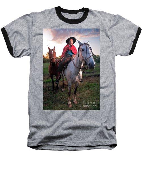 Gaucho Argentino Baseball T-Shirt