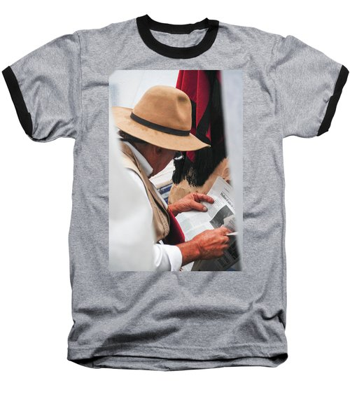 Gaucho Reading Baseball T-Shirt
