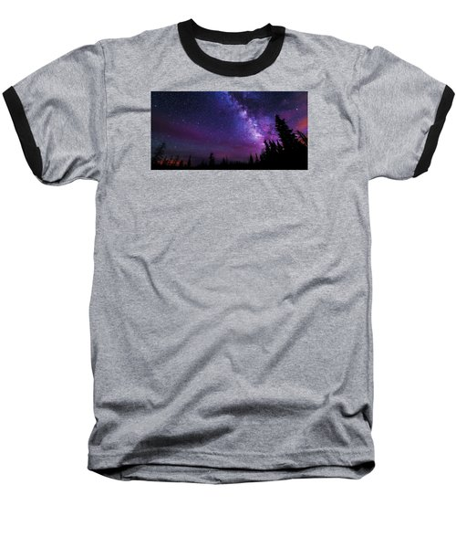 Gaze Baseball T-Shirt by Chad Dutson