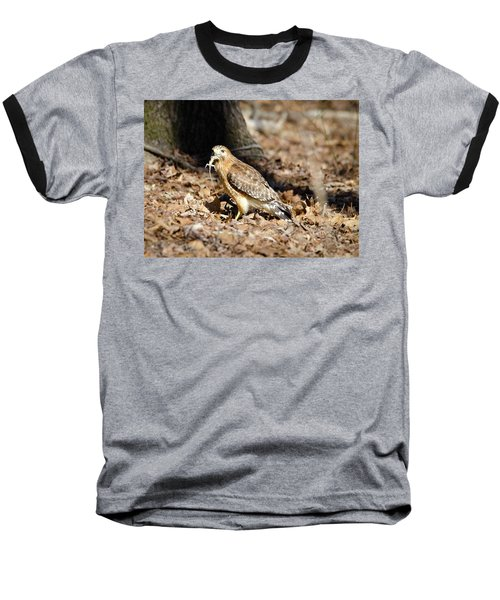 Baseball T-Shirt featuring the photograph Gecko For Lunch by George Randy Bass