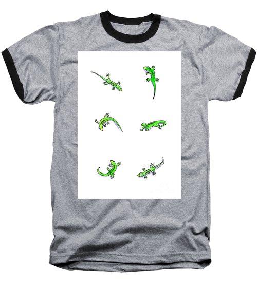 Gecko Play Baseball T-Shirt