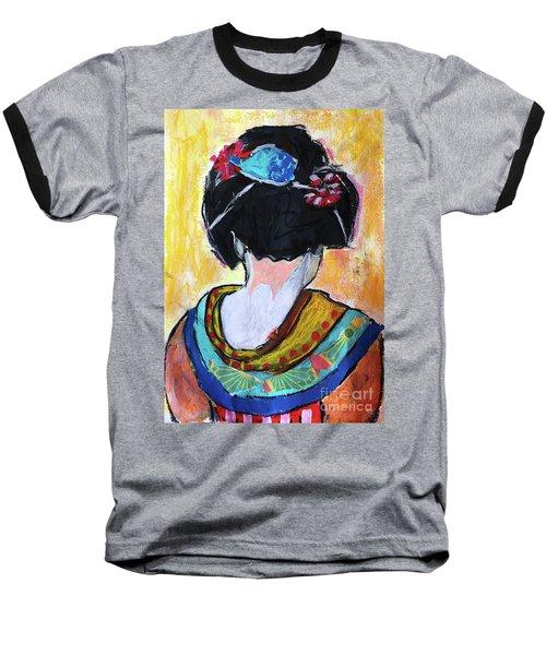 Geisha Girl  Baseball T-Shirt