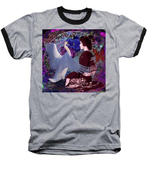 Geisha Swan Dance Baseball T-Shirt