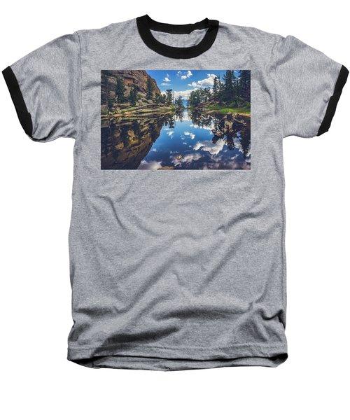 Gem Lake Reflections Baseball T-Shirt