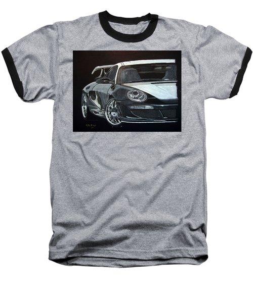Gemballa Porsche Right Baseball T-Shirt
