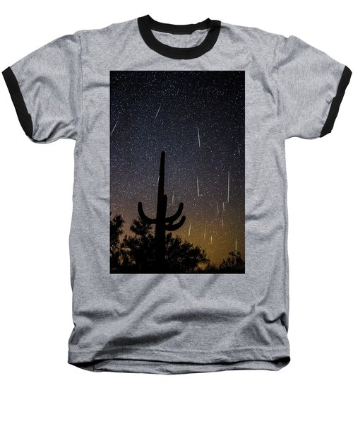 Geminid Meteor Shower #2, 2017 Baseball T-Shirt