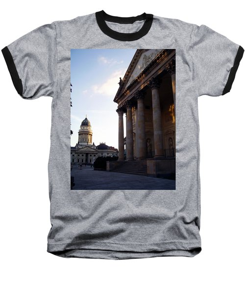 Gendarmenmarkt Baseball T-Shirt by Flavia Westerwelle