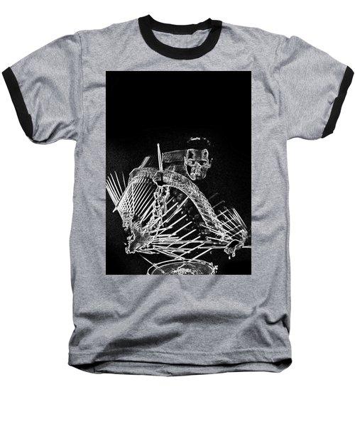 Gene Krupa Baseball T-Shirt by Charles Shoup