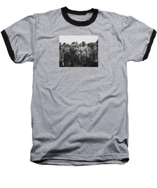 General Eisenhower On D-day  Baseball T-Shirt