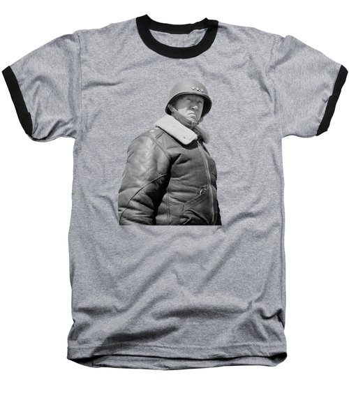 General George S. Patton Baseball T-Shirt