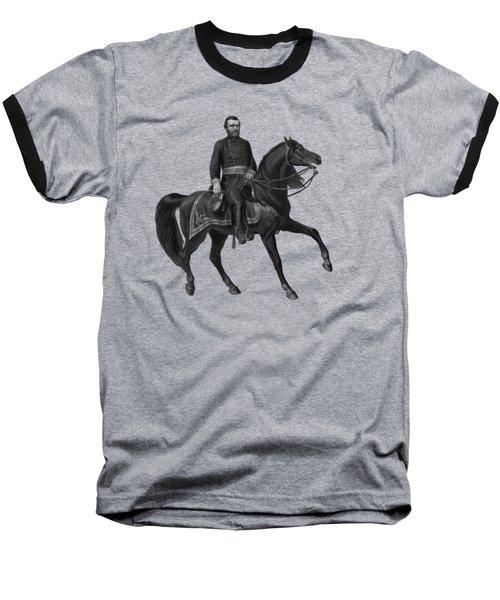 General Grant On Horseback  Baseball T-Shirt