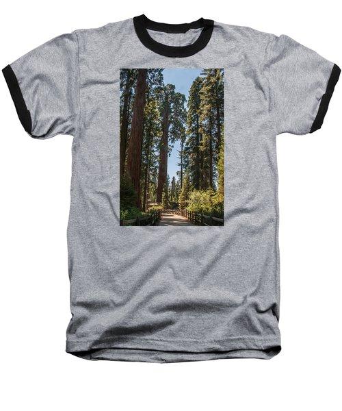 General Grant Tree Kings Canyon National Park Baseball T-Shirt