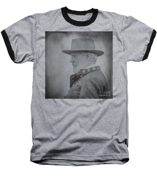 General Robert E Lee Portrait  Baseball T-Shirt