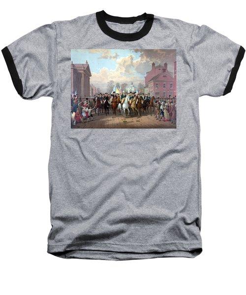 General Washington Enters New York Baseball T-Shirt