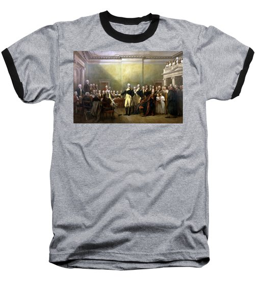 General Washington Resigning His Commission Baseball T-Shirt by War Is Hell Store