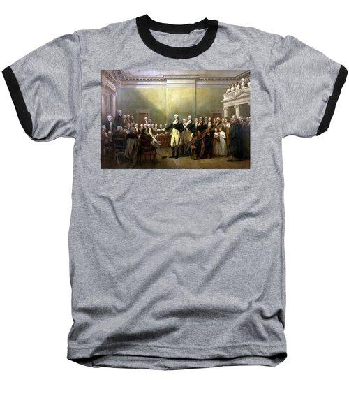 General Washington Resigning His Commission Baseball T-Shirt