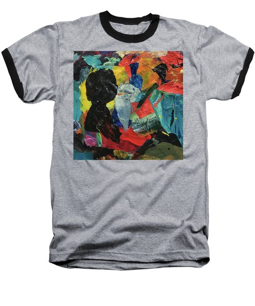 Baseball T-Shirt featuring the painting Generations by Mary Sullivan