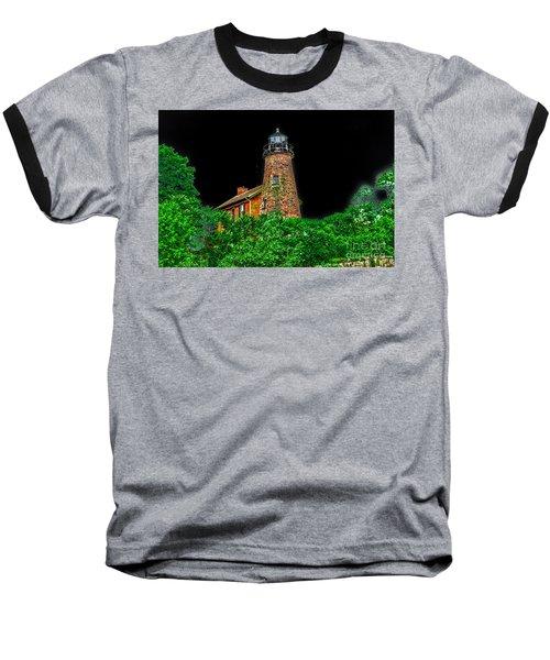 Genesee Lighthouse Baseball T-Shirt