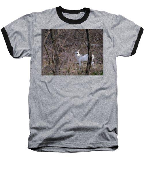 Genetic Mutant Deer Baseball T-Shirt