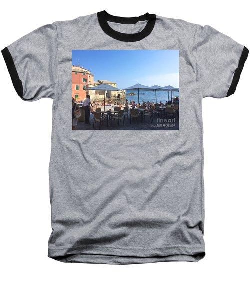 Genova, Boccadasse Baseball T-Shirt
