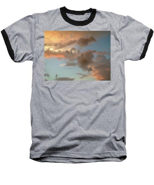 Gentle Clouds Gentle Light Baseball T-Shirt