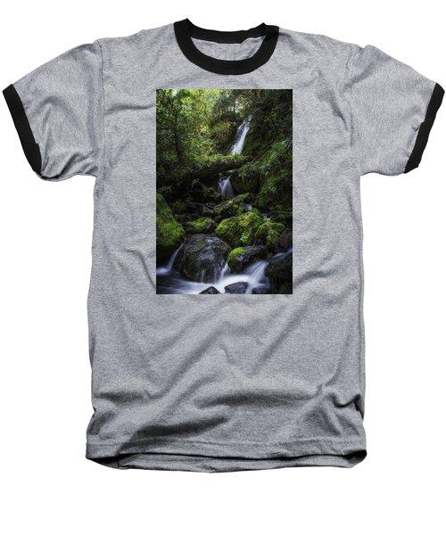 Gentle Cuts Baseball T-Shirt by James Heckt