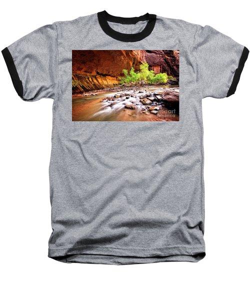 Gentle Flow Baseball T-Shirt