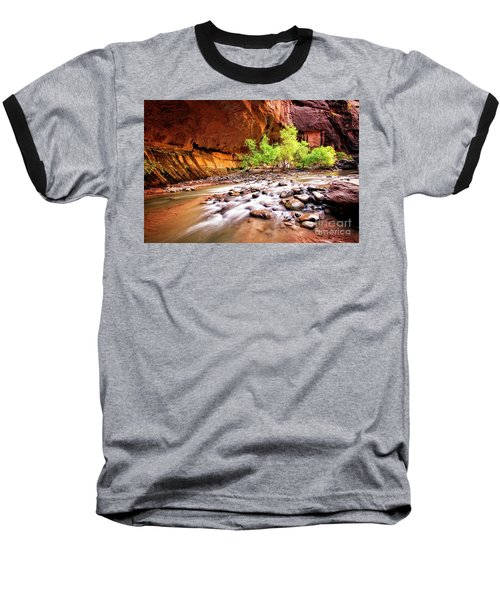 Gentle Flow Baseball T-Shirt