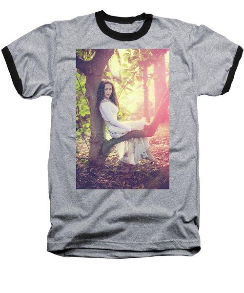 Gentle Hush Of Yesterday Baseball T-Shirt