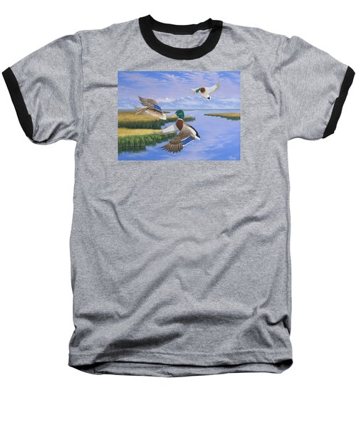 Gentle Landing Baseball T-Shirt