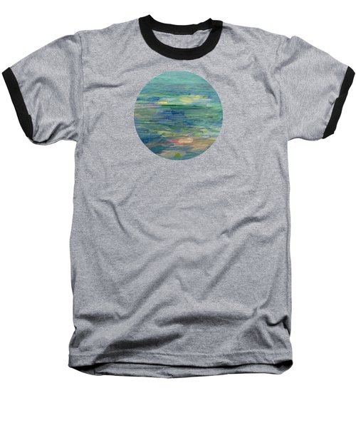 Gentle Light On The Water Baseball T-Shirt by Mary Wolf