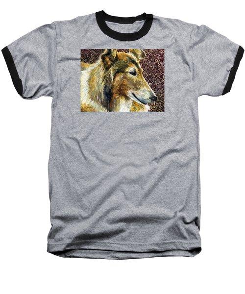 Gentle Spirit - Reveille Viii Baseball T-Shirt by Hailey E Herrera