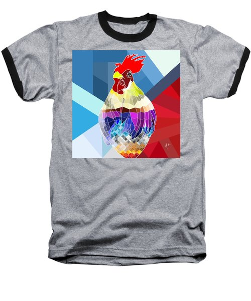 Geo Doodle Doo Baseball T-Shirt