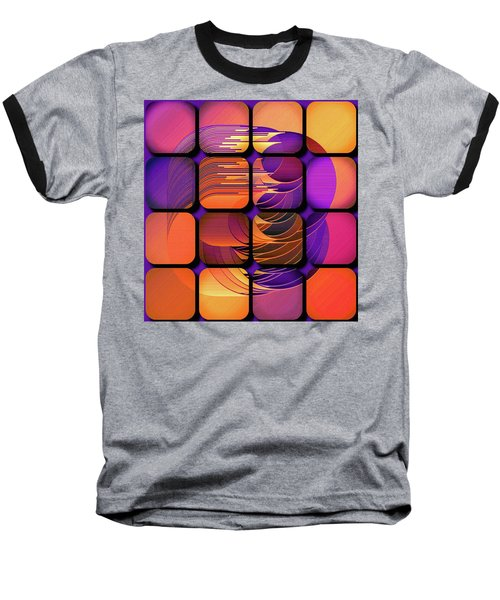 Geo Electric Baseball T-Shirt