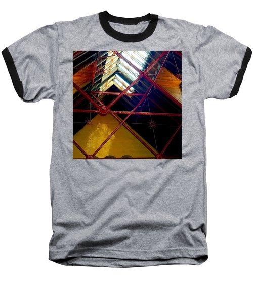 Geometric And Suns  Baseball T-Shirt