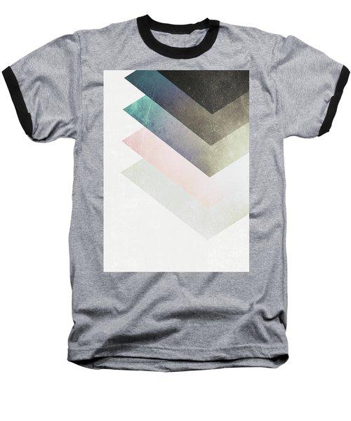 Geometric Layers Baseball T-Shirt
