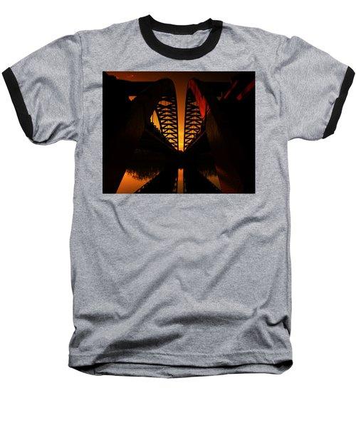 Geometry In Steel Baseball T-Shirt