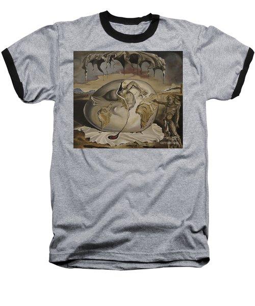 Dali's Geopolitical Child Baseball T-Shirt