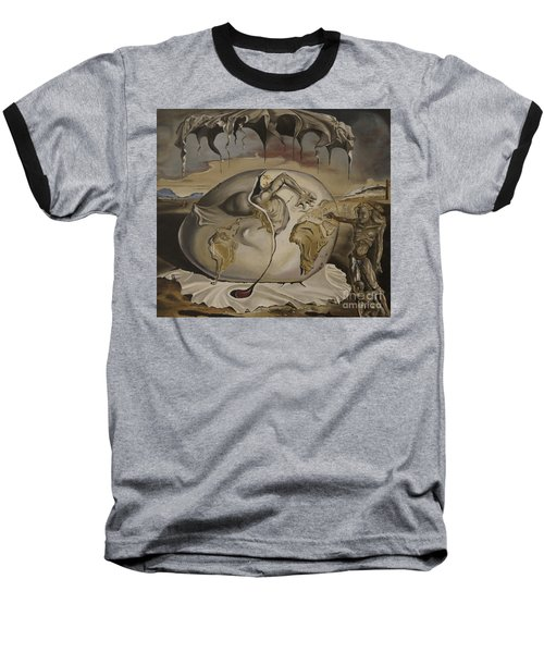 Dali's Geopolitical Child Baseball T-Shirt