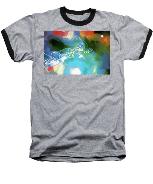 George Benson, Watercolor Baseball T-Shirt