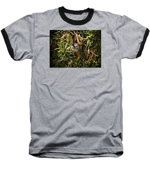 Baseball T-Shirt featuring the photograph George by Cameron Wood