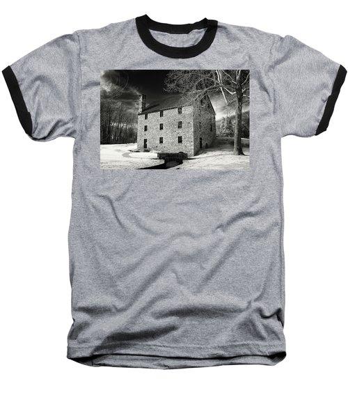George Washingtons Gristmill Baseball T-Shirt by Paul Seymour