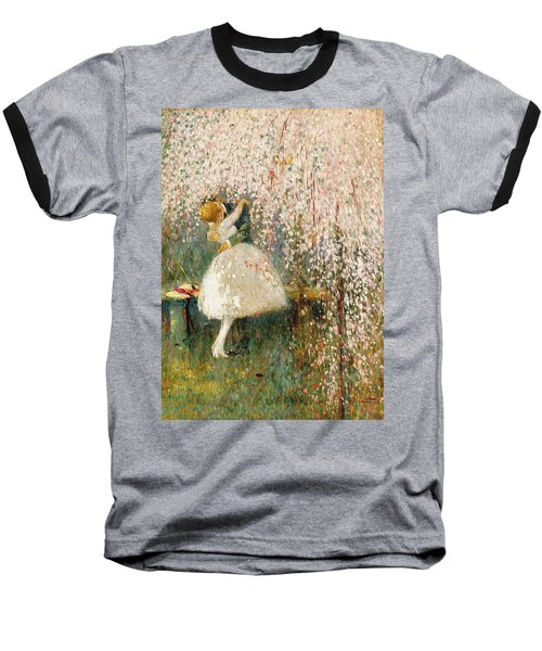 Georges Picard French 1857 1946 Romance Under The Blossom Tree Baseball T-Shirt