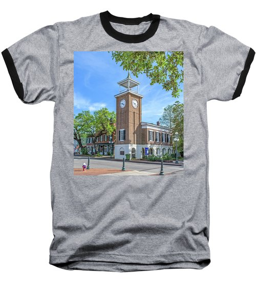 Georgetown Clock Tower Baseball T-Shirt