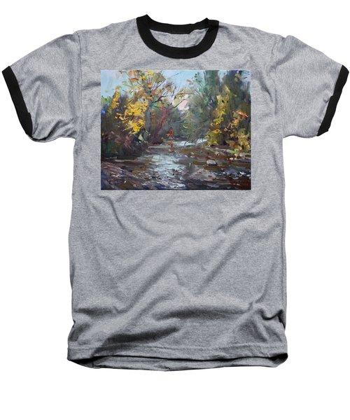 Georgetown Fall Colors Baseball T-Shirt