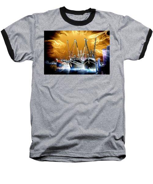 Georgetown Fantasy Shrimpers Baseball T-Shirt